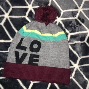 American Eagle Outfiters LOVE Beanie